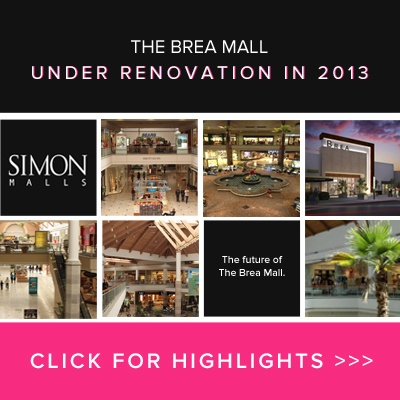 Brea Mall Under Renovation in 2013