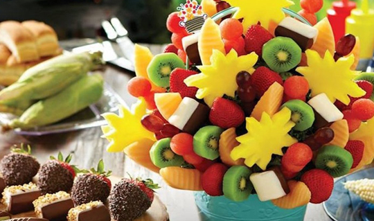 Dining at Edible Arrangements