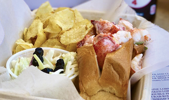 Dining at Lobster ShackXpress