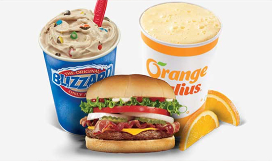 Dining at Dairy Queen / Orange Julius
