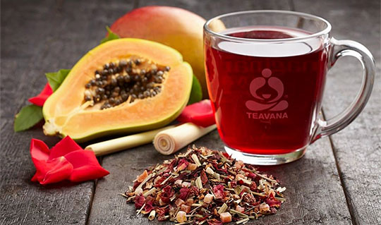 Dining at Teavana
