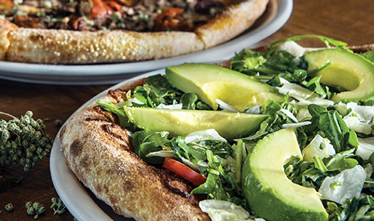 Dining at California Pizza Kitchen