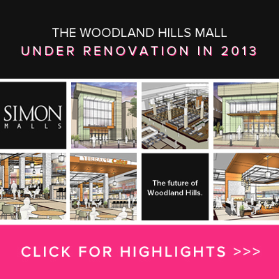 Woodland Hills Mall Under Renovation in 2013