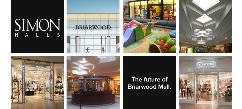 The future of Briarwood Mall.